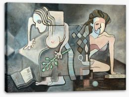 Cubism Stretched Canvas 97061557