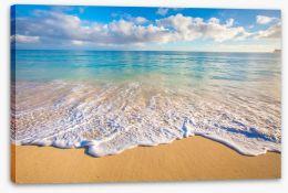 Beaches Stretched Canvas 98746021