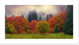Autumn Art Print 98805038