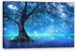 The fairy tree Stretched Canvas 98859599