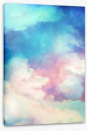 As clouds roll by Stretched Canvas 98953569