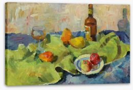 Impressionist Stretched Canvas 99134898
