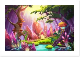 Magical Kingdoms Art Print 99302588
