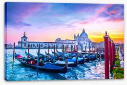 Basilica sunset Stretched Canvas 99576235