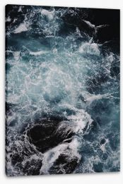 Blue motion II Stretched Canvas CS0025