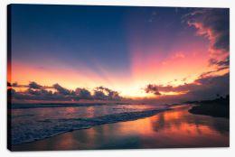 Soft Bali sunset Stretched Canvas CS0002