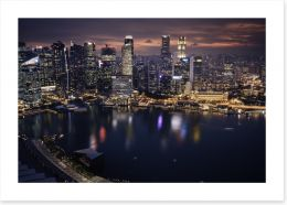 Singapore sundown