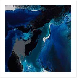 Deep sea 1 Art Print ET0004