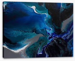 Deep sea 2 Stretched Canvas ET0005