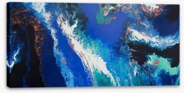 Planet earth Stretched Canvas ET0008