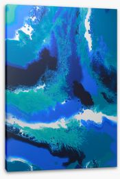 Submerge Stretched Canvas ET0020