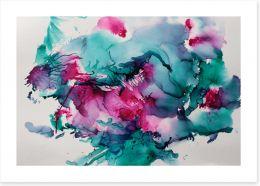 First blush Art Print ET0047
