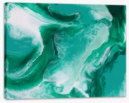 Emerald city Stretched Canvas ET0049