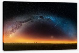 The Milky Way Stretched Canvas FB0011