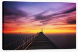 Altona Pier sunset