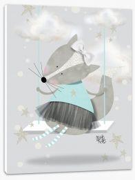 Blue fox swing