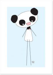 Panda long legs