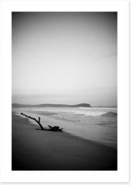 North Haven beach at dusk Art Print MC005
