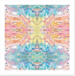 Love and light kaleidoscope