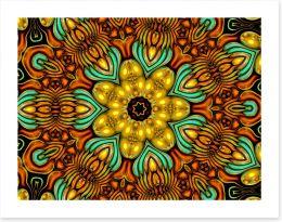 Autumn fractal