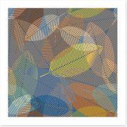 Autumn leaves Art Print 101513301
