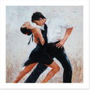 Tango for two Art Print 101626857
