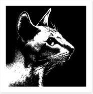 Black and White Art Print 102451141