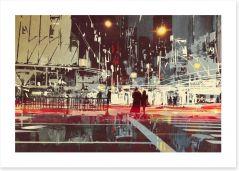 Contemporary Art Print 102632070