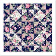 Patchwork Art Print 102649108
