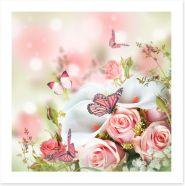 Butterflies Art Print 102741160