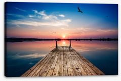 Twilight tranquility Stretched Canvas 103051284