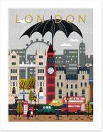 Welcome to London Art Print 103237152