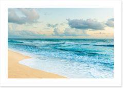 Beaches Art Print 104187293