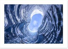 Glaciers Art Print 104522620