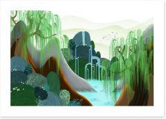 Contemporary Art Print 104879187