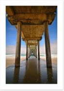 Jetty Art Print 104938429