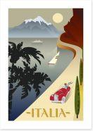 Travel Italy Art Print 109645190