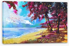 Beaches Stretched Canvas 111885382