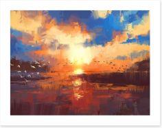 Impressionist Art Print 117538927