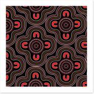 Aboriginal Art Art Print 118227981