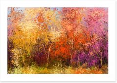 The beauty of Fall Art Print 118861750