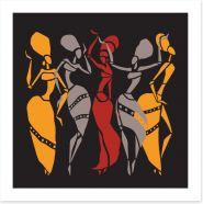 African Art Art Print 118879789