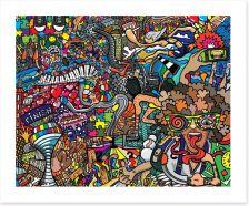 A slice of life Art Print 119005042