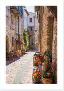 Village Art Print 119705583