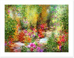 The secret garden Art Print 120811218