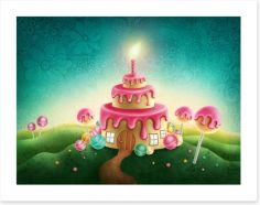 Magical Kingdoms Art Print 122662615