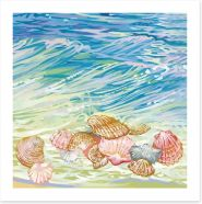 Beach House Art Print 123387560