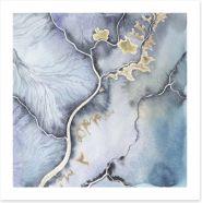Rivers of time Art Print 124829355