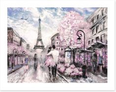 Falling in love Art Print 125994072