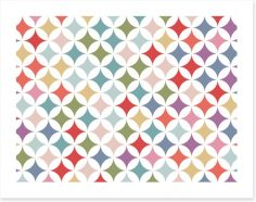 Geometric Art Print 127366493